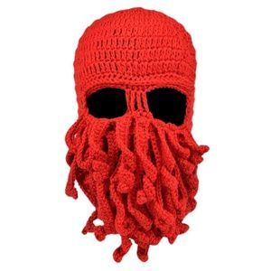 Other - Halloween Costume Knit Octopus Facemask
